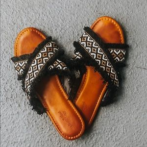 Cute patterned sandals